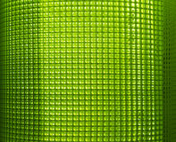 Green Plastic Net Royalty Free Stock Photos