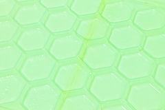 Green plastic pattern background Royalty Free Stock Images