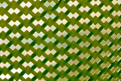 Green Plastic Pattern Stock Photography