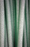 Green plastic pipes Royalty Free Stock Photos