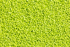 Green plastic resin ( Masterbatch ) Stock Photography