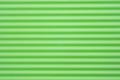 Green plastic stripes Stock Photography
