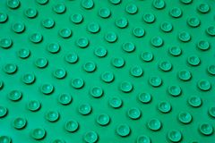Green plastic surface pattern. Stock Photography