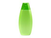 Green plastic tube with shampoo isolated Stock Photos