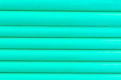 Green plastic tubing pattern texture background Stock Photos