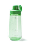 Green Plastic Water Bottle Stock Photo