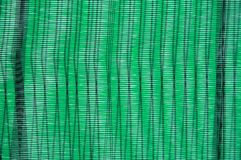 Green plastic weave Stock Photography