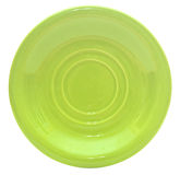 Green plate Royalty Free Stock Photography
