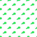 Green playground slide pattern, cartoon style Royalty Free Stock Photography