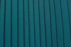 Green pleated textile Stock Photography