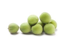 green plum Royalty Free Stock Photo