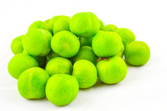 Green plums Stock Photography