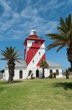 Green Point Light House. During a bright sunny day in Cape Town, South Africa Stock Images