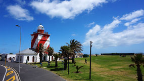 Green point light house in Cape Town Stock Images