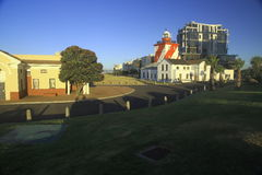 Green Point lighthouse, daylight (III) Royalty Free Stock Photo