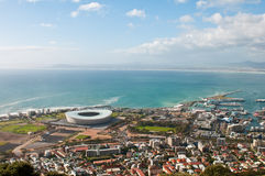 Green Point Stadium Cape Town Royalty Free Stock Photos