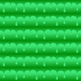 Green poisoned water drops seamless vector texture or pattern Stock Images