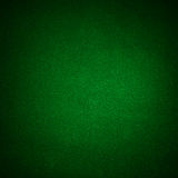 Green Poker table background Stock Photo