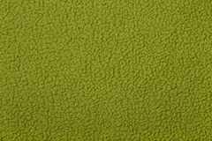 Green polar fleece background texture Royalty Free Stock Image