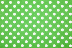 Green polka dot background Royalty Free Stock Photography
