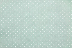 Green polka dot fabric Royalty Free Stock Images