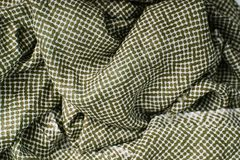 Polka dots fabric texture background Royalty Free Stock Photography