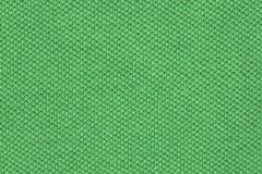Green polyester cloth Royalty Free Stock Photos