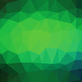 Green Polygonal Background Royalty Free Stock Image