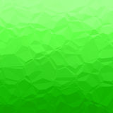 Green polygons Stock Image