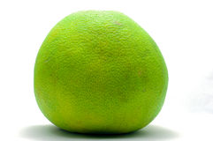 Green Pomelo fruit. In white background Royalty Free Stock Image