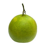 Green pomelo isolated Stock Images