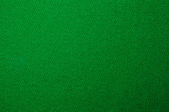 Green pool billiards cloth color texture close up Stock Photography