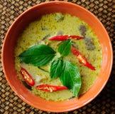 Green pork Curry , Thai cuisine Stock Photo