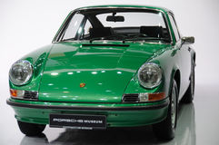 Green Porsche 901 front Royalty Free Stock Photo