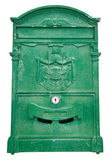 Green Post box. Royalty Free Stock Photos