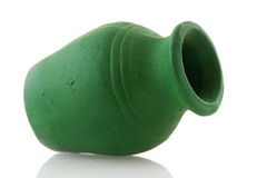 Green pottery Royalty Free Stock Photos