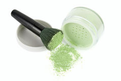 Green powder Royalty Free Stock Photography
