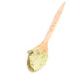 Green powder of matcha tea Royalty Free Stock Image