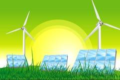 Green Power Royalty Free Stock Photos