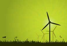 Green Power Royalty Free Stock Photography