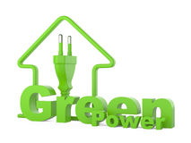 Green power. energy concept Royalty Free Stock Photography