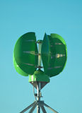 Green power generator. Green energy generator powerwd by the wind Royalty Free Stock Photos