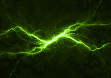Green power plasma Stock Photography
