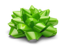 Green Present Bow Royalty Free Stock Images