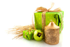 Free Green Presents Stock Images - 11947704