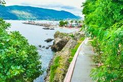 The green promenade Stock Photo