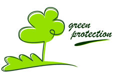 Green protection Stock Images