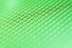 Green Prototype PCB Board abstract background. Close up Stock Photo