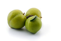 Green pruns Stock Photography