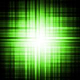 Green psychedelic eye background Stock Photo